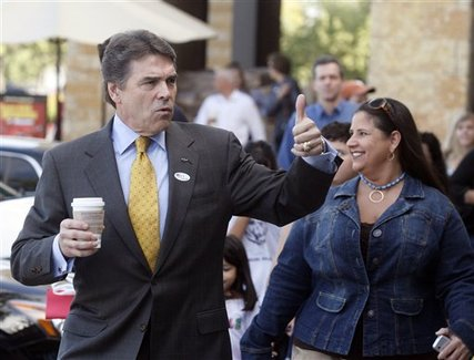 Perry at the Polls in Brownsville, Texas
