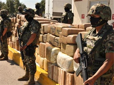 Mexican military confiscate 105 tons of marijuana