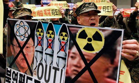 Protest-by-South-Korean