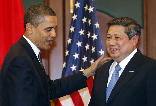 Obama and Yudhoyono