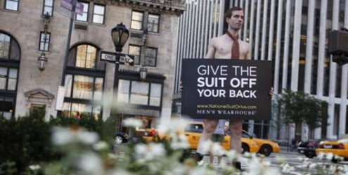 mens warehouse suit drive